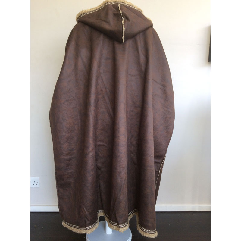 Leather Cloak Brown by Chows Emporium LARP