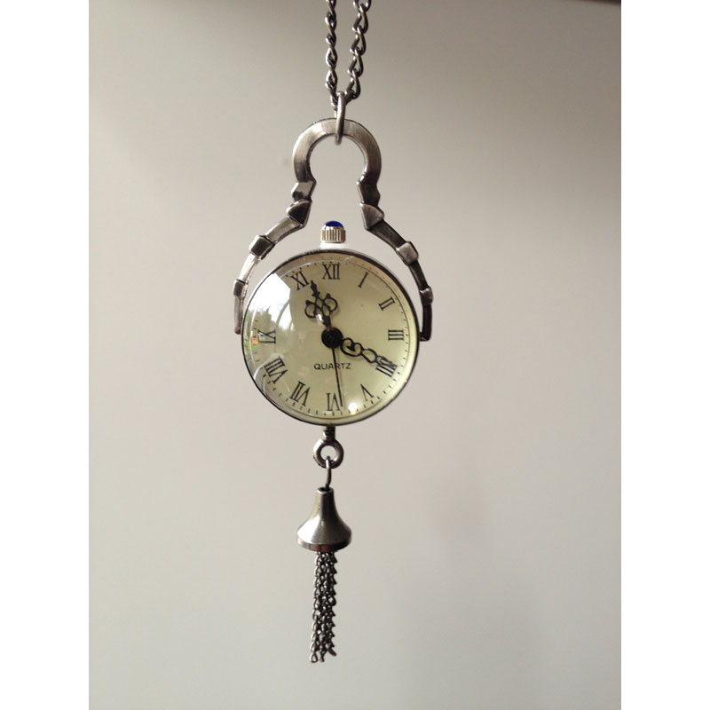 Sphere pendant watch in silver sphere pendant watch silver mozeypictures Images
